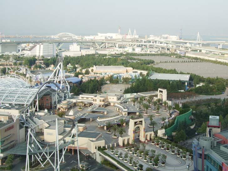 USJ ゲート付近の上空写真 USJ-MAP 大阪のベイエリア情報 ...